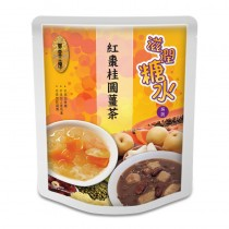 紅棗桂圓薑茶