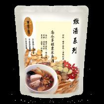 南瓜茅根粟米魚湯
